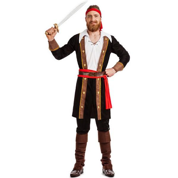 disfraz de pirata casaca hombre - DISFRAZ PIRATA CASACA  HOMBRE
