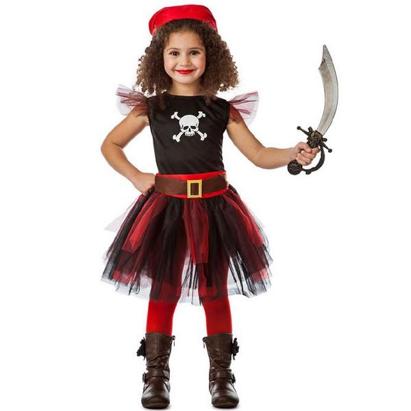 disfraz de pirata con tutu para nina - DISFRAZ DE PIRATA TUTÚ NIÑA