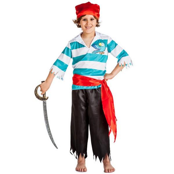 disfraz de pirata loro para nino - DISFRAZ DE PIRATA LORO NIÑO