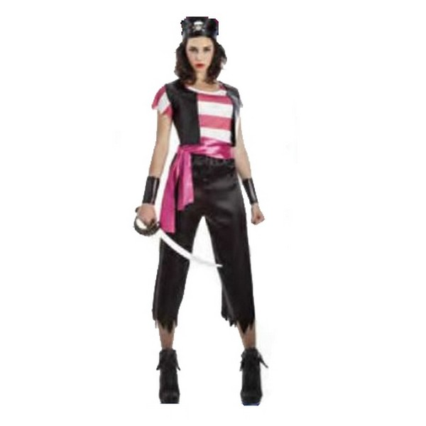 disfraz de pirata para mujer 1 - DISFRAZ DE PIRATA MUJER