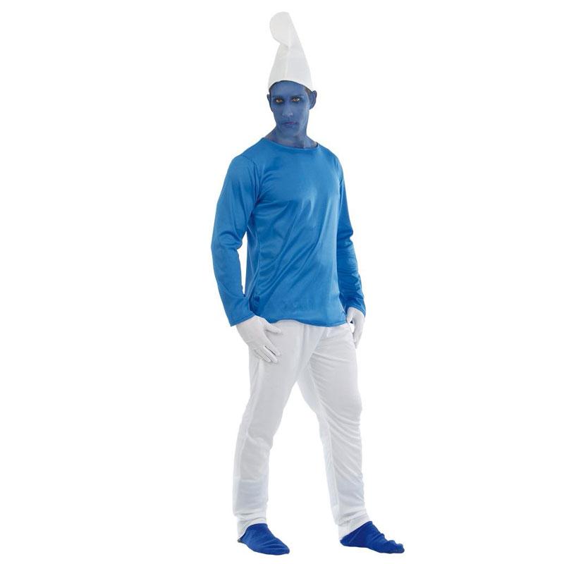 disfraz de pitufo adulto - DISFRAZ DE PITUFO ADULTO