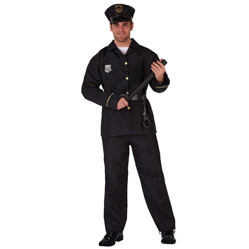 disfraz de policia adulto 1 - DISFRAZ DE POLICIA HOMBRE