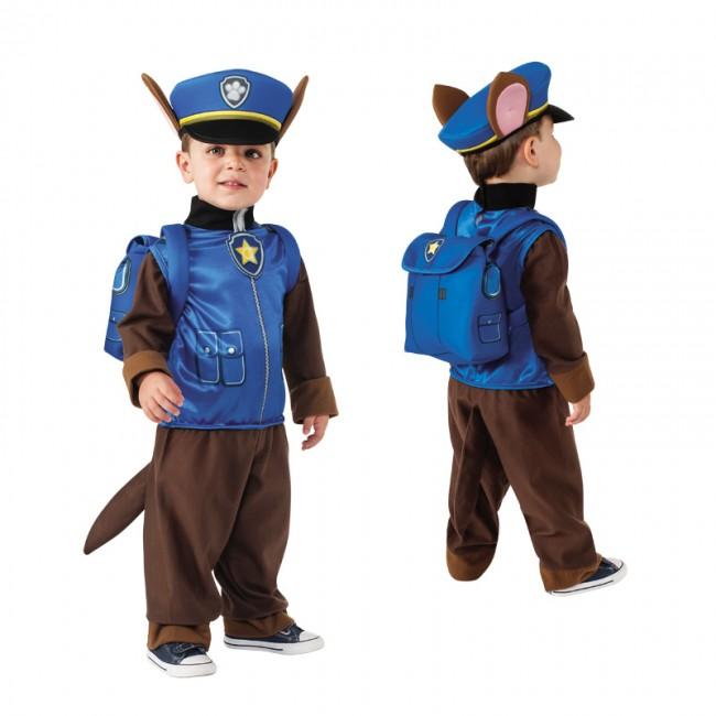 disfraz de policia chase paw patrol infantil - DISFRAZ DE CHASE PATRULLA CANINA INFANTIL