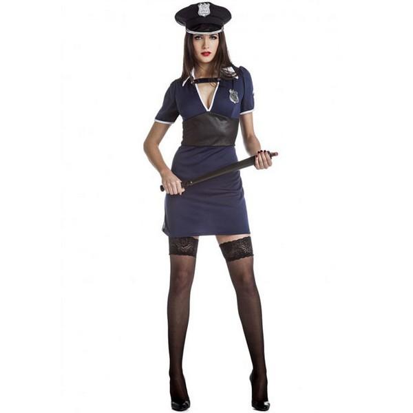 disfraz de policia mujer vestido  - DISFRAZ DE POLICIA SEXY MUJER