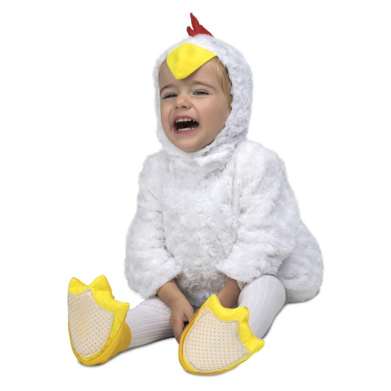 disfraz de pollito blanco infantil 800x800 - DISFRAZ DE POLLITO BLANCO BEBE