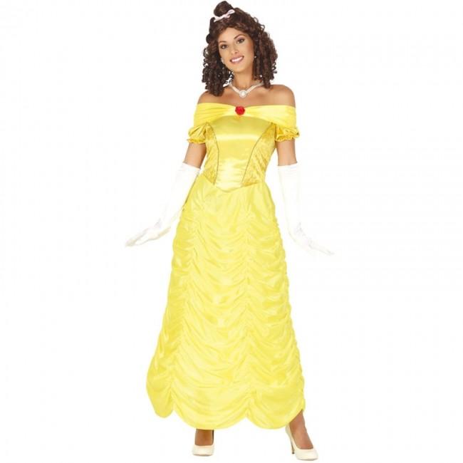 disfraz de princesa la bella para mujer - DISFRAZ DE LA BELLA MUJER