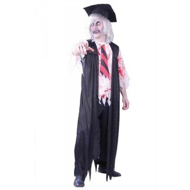 disfraz de profesor zombie - DISFRAZ DE PROFESOR ZOMBIE HOMBRE