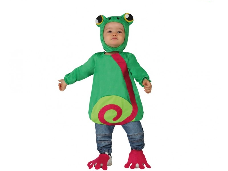 disfraz de rana bebe  - DISFRAZ DE RANA BEBE