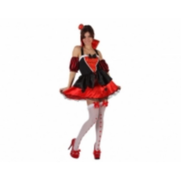 disfraz de reina de corazones - DISFRAZ  REINA DE CORAZONES SEXY MUJER