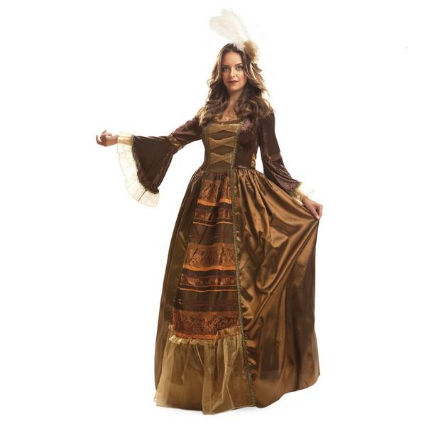 disfraz de reina medieval mujer 201247 1 - DISFRAZ DE REINA MEDIEVAL LUJO MUJER