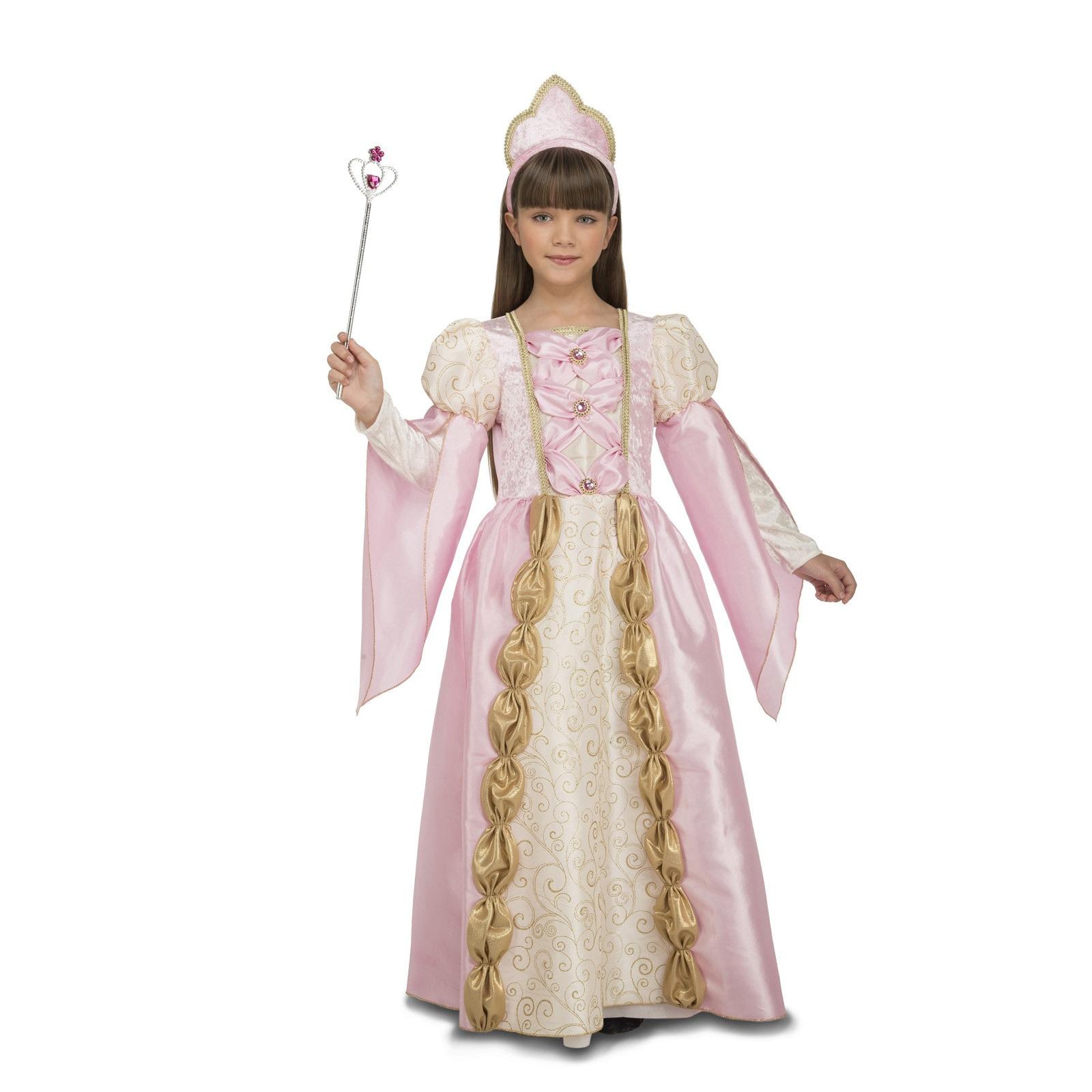 disfraz de reina rosa niña 204116mom - DISFRAZ DE REINA ROSA NIÑA