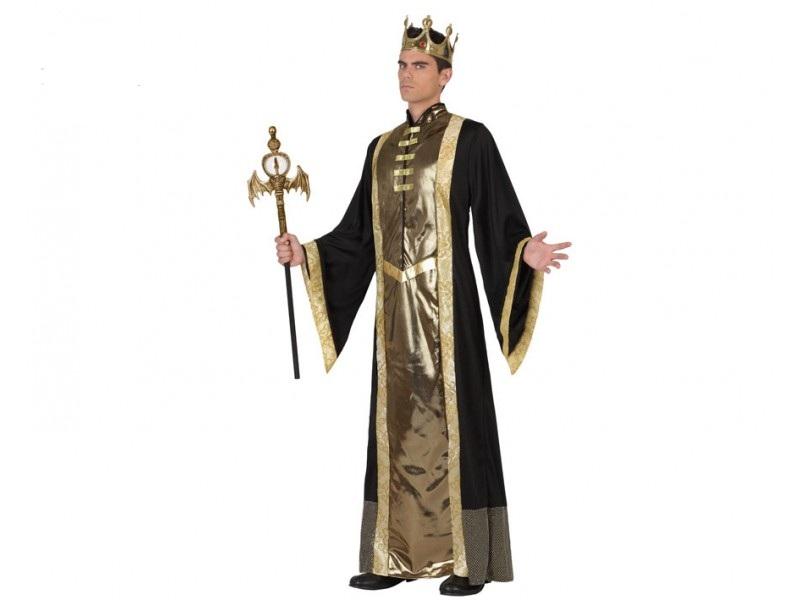 disfraz de rey adulto t 3 - DISFRAZ DE REY EPOCA PARA HOMBRE