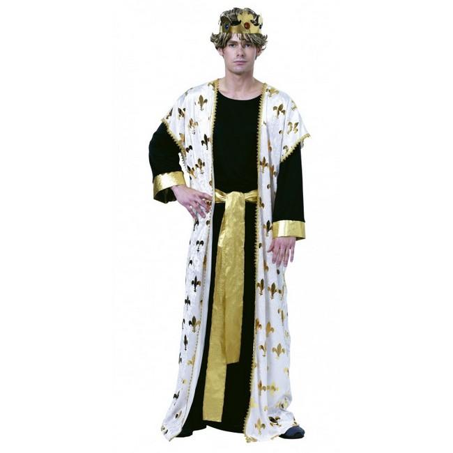 disfraz de rey medieval hombre 69547 - DISFRAZ DE REY MEDIEVAL CAPA HOMBRE