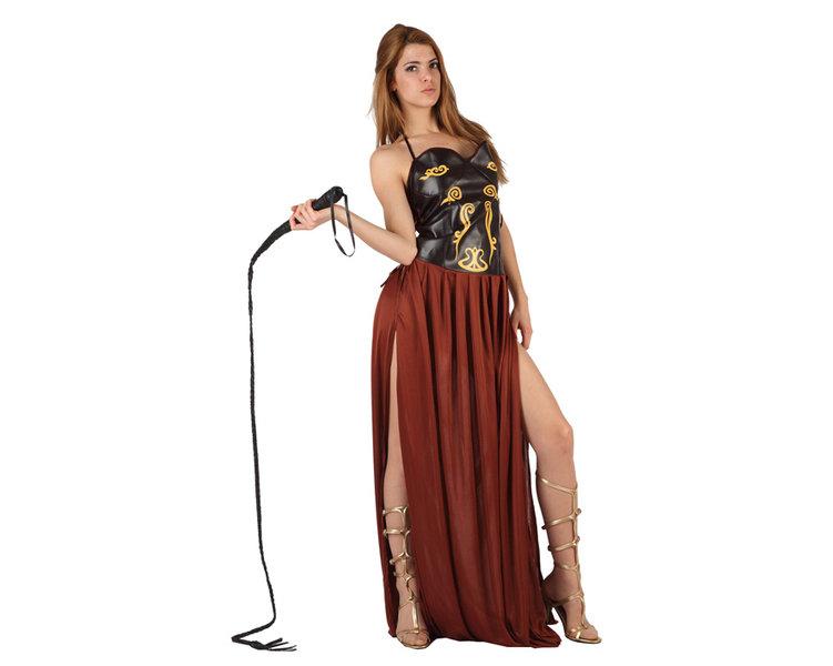 disfraz de romana marrón mujer - DISFRAZ DE ROMANA MARRON MUJER