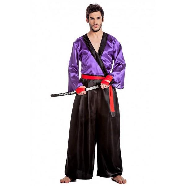disfraz de samurai para hombre - DISFRAZ DE SAMURAI HOMBRE