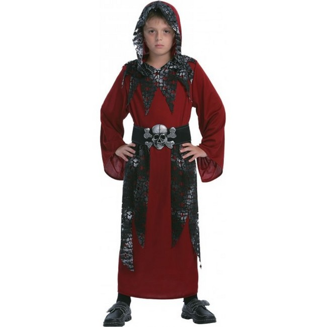 disfraz de segador esqueleto niño 1 - DISFRAZ DE SEGADOR NIÑO