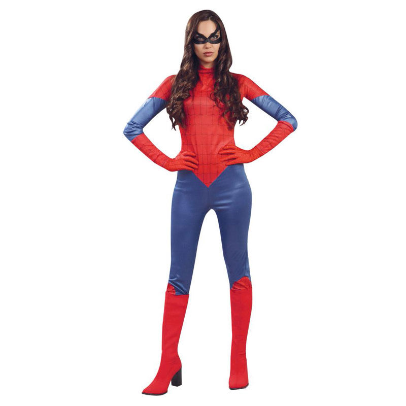 disfraz de sipderwoman maillot - DISFRAZ MAILLOT SPIDERWOMAN MUJER