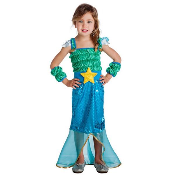 disfraz de sirena para bebé k0957 - DISFRAZ DE SIRENA BEBE