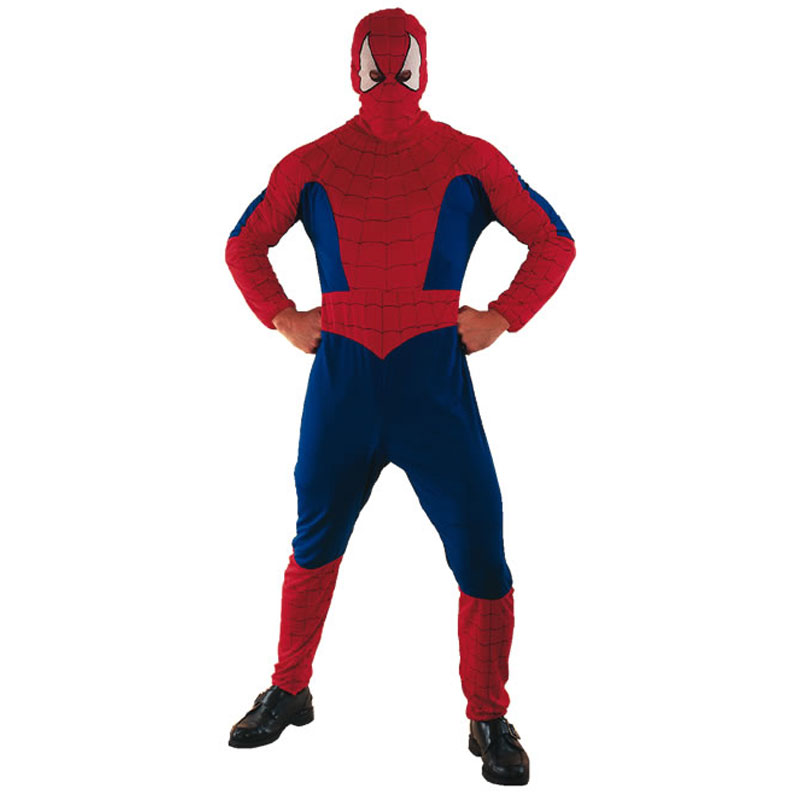 disfraz de spiderman adulto - DISFRAZ DE SPIDERMAN PARA ADULTO