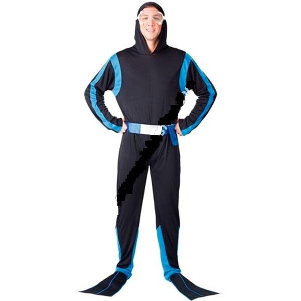 disfraz de submarinista para hombre 11 - DISFRAZ DE HOMBRE SUBMARINISTA