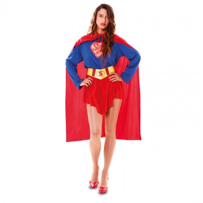 disfraz de superwoman mujer - DISFRAZ DE SUPERWOMAN MUJER
