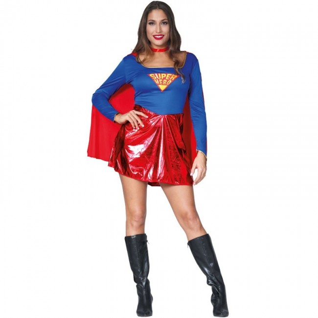 disfraz de superwoman - DISFRAZ DE SUPERMUJER
