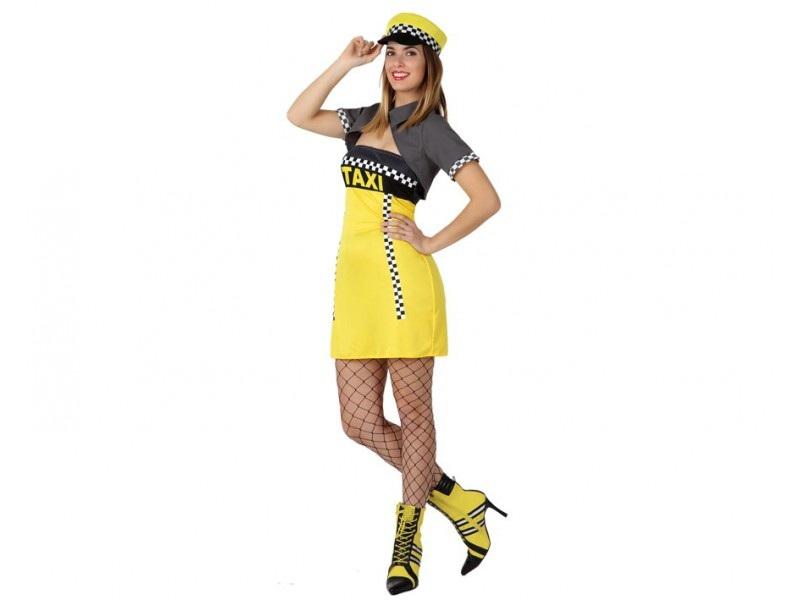 disfraz de taxista mujer - DISFRAZ DE TAXISTA MUJER