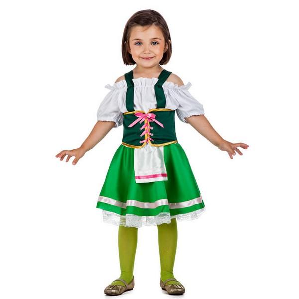 disfraz de tirolesa para nina - DISFRAZ DE TIROLESA NIÑA