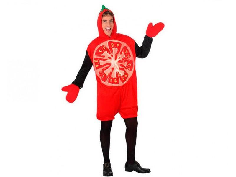 disfraz de tomate adulto - DISFRAZ DE TOMATE ADULTO