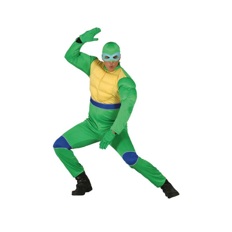 disfraz de tortuga ninja adulto - DISFRAZ DE TORTUGA NINJA ADULTO