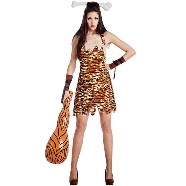 disfraz de troglodita para mujer - DISFRAZ DE TROGLODITA CAVERNÍCOLA MUJER