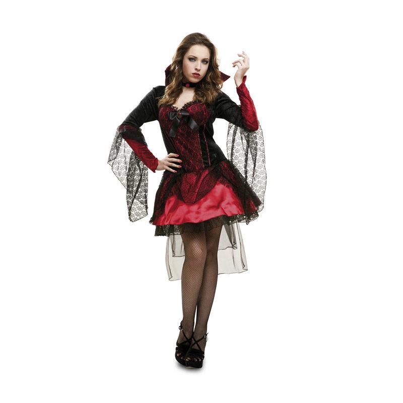 disfraz de vampiresa oscura para mujeres en varias tallas para halloween 62904 1 800x800 - DISFRAZ DE VAMPIRESA OSCURA ADULTO