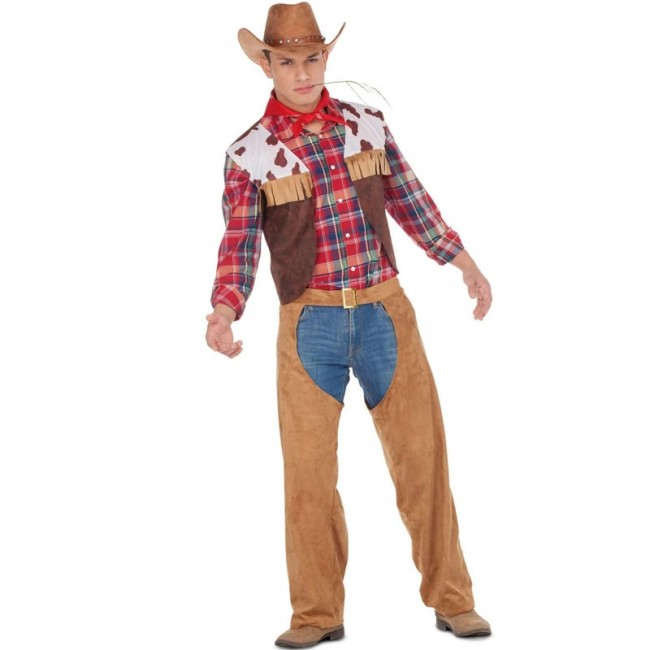 disfraz de vaquero americano para hombre - DISFRAZ DE VAQUERO HOMBRE