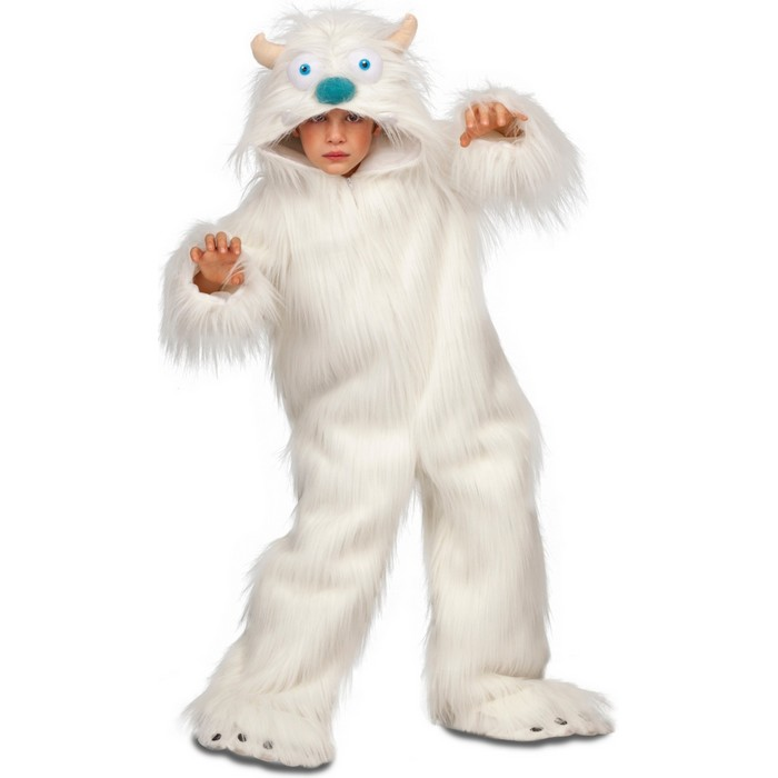 disfraz de yeti blanco infantil - DISFRAZ DE YETI BLANCO INFANTIL