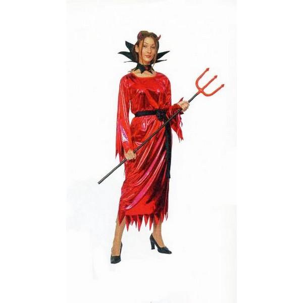 disfraz demonia brillo mujer - DISFRAZ DE DEMONIA BRILLO MUJER