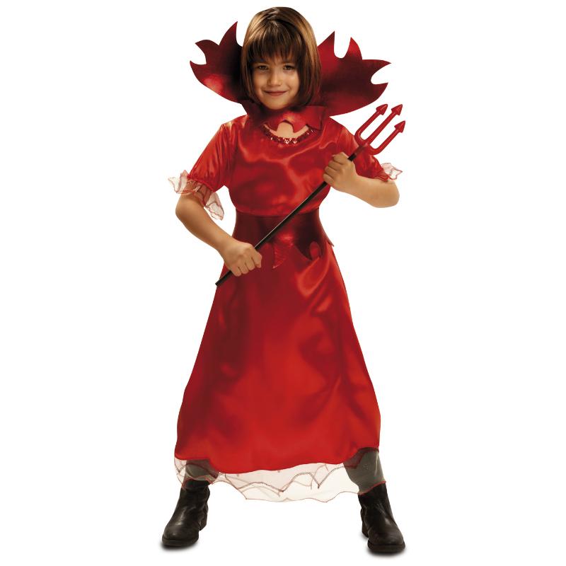 disfraz demonia infantil 1 - DISFRAZ DE DEMONIA INFANTIL