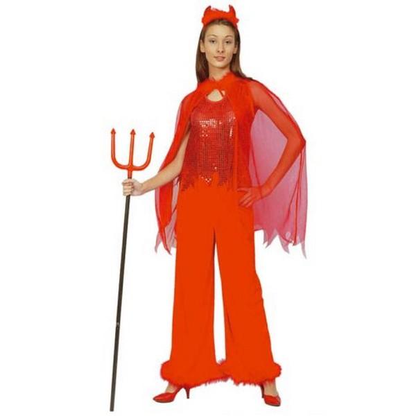 disfraz demonia pantalon mujer 1 - DISFRAZ DEMONIA PANTALÓN MUJER