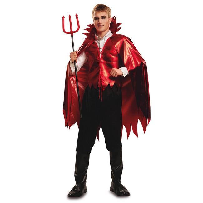 disfraz demonio aterrador para hombre - DISFRAZ DE DEMONIO ROJO HOMBRE