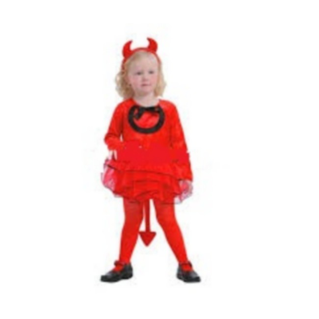 disfraz demonio niña  - DISFRAZ DE DEMONIO NIÑA