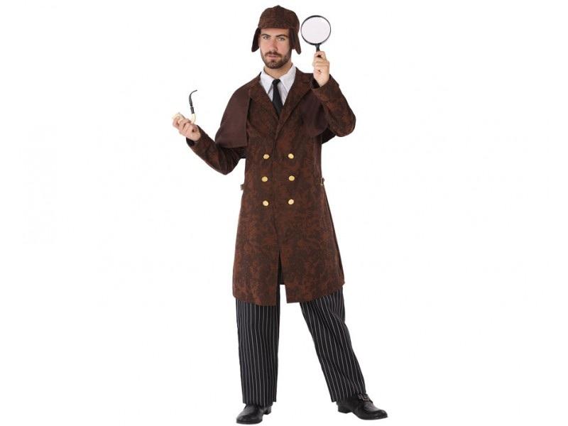 disfraz detective hombre - DISFRAZ DE DETECTIVE HOMBRE