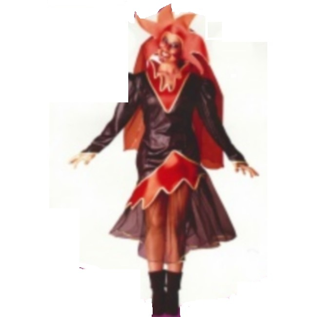disfraz diablesa mujer 91685 - DISFRAZ DE DIABLESA MUJER