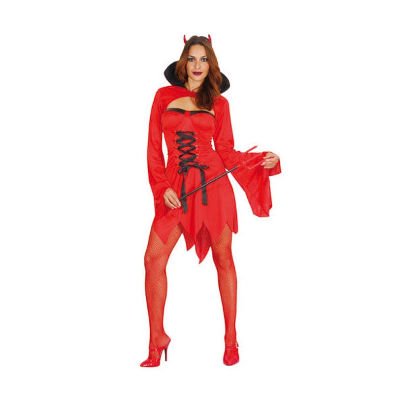 disfraz diablesa.mujer  1 - DISFRAZ DE DIABLESA CORTO MUJER