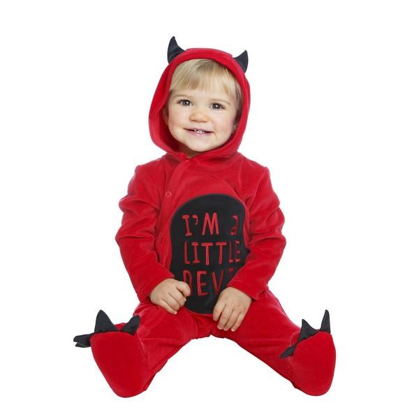 disfraz diablillo bebé - DISFRAZ DE DIABLILLO BEBÉ