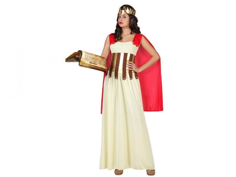 disfraz diosa griega mujer 1 - DISFRAZ DE DIOSA GRIEGA MUJER