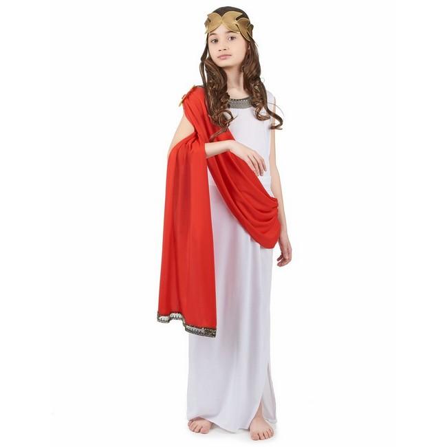 disfraz diosa romana del olimpo niña - DISFRAZ DE DIOSA ROMANA DEL OLIMPO NIÑA