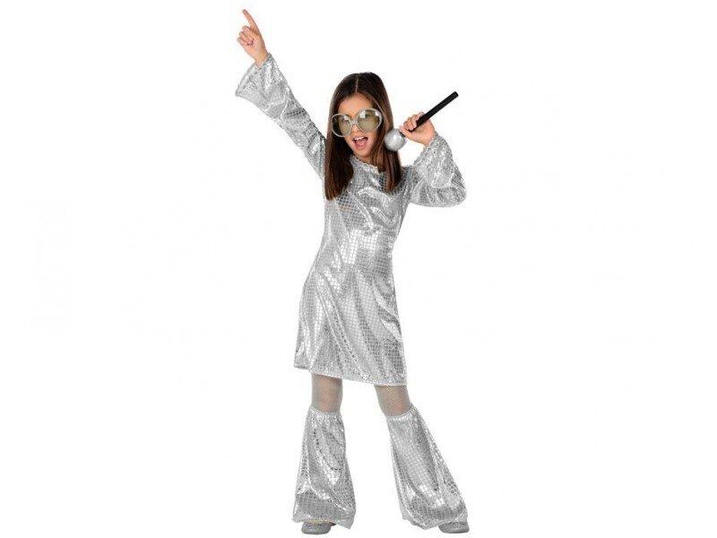disfraz disco plateado niña 800x600 - DISFRACES NIÑA
