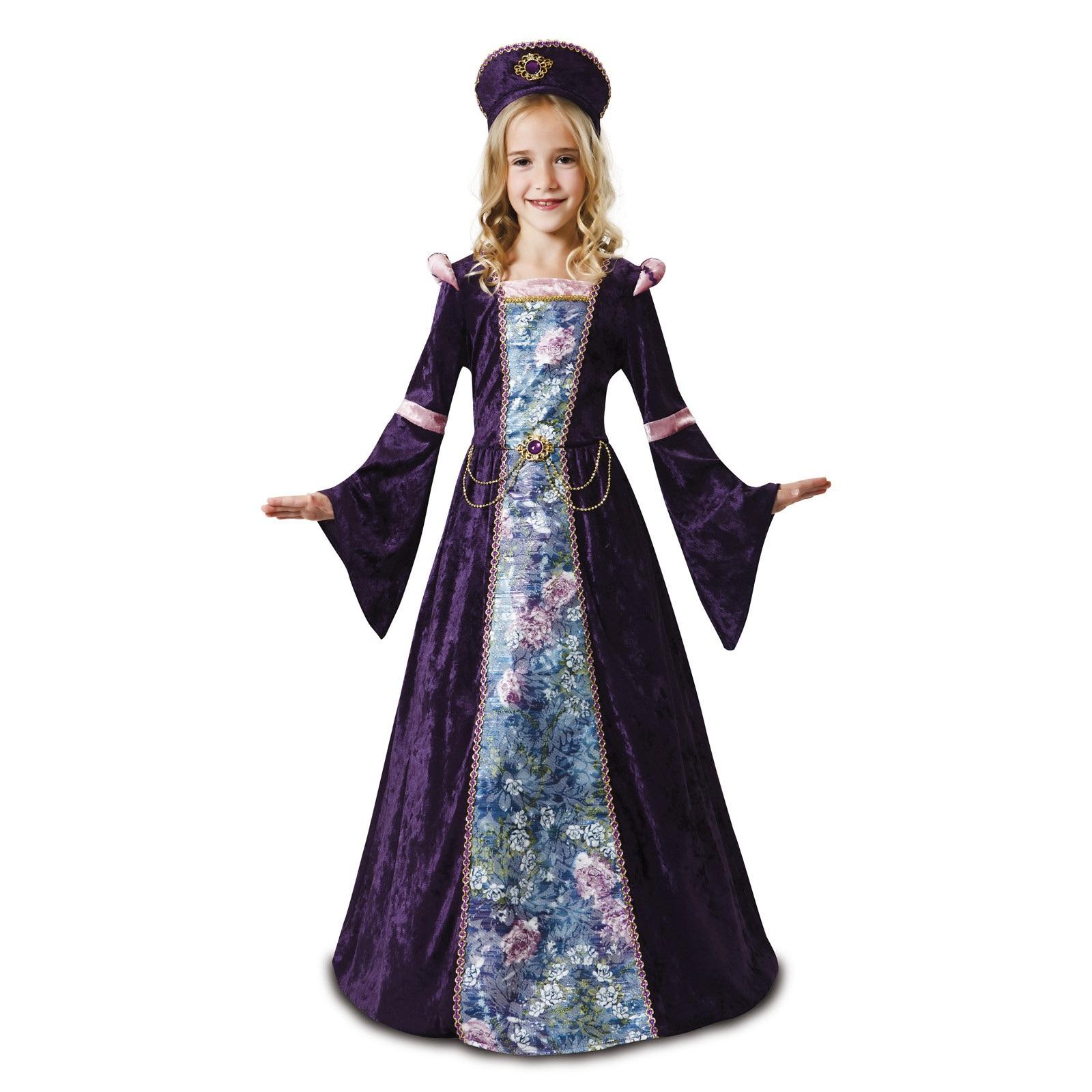 disfraz docella lavanda niña 203152mom - DISFRAZ DONCELLA LAVANDA NIÑA