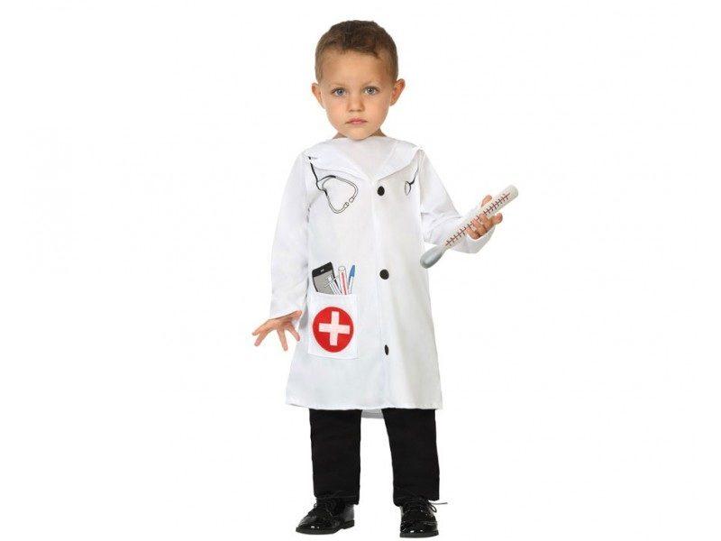 disfraz doctor bebé 800x600 - DISFRAZ DE DOCTOR BEBÉ