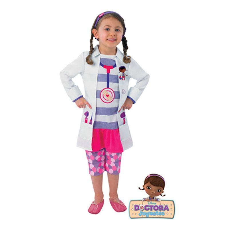 disfraz doctora juguetes peque - DISFRAZ DE LA DOCTORA JUGUETES PEQUE