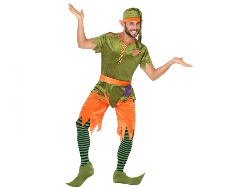 disfraz duende hombre - DISFRAZ DE DUENDE VERDE PARA HOMBRE